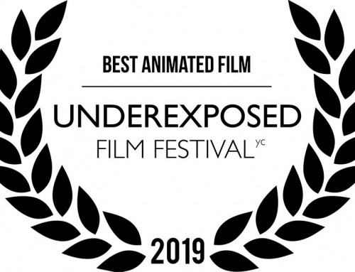Best Animated Film Award for THE CALL at the Underexposed Film Festival yc 2019