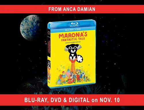 'Marona's Fantastic Tale' on Blu-ray DVD and Digital November 10