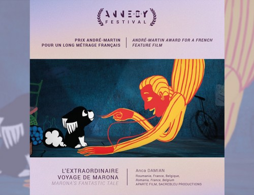 Marona's Fantastic Tale receives in Annecy the prize André Martin, for best French animation film of 2020